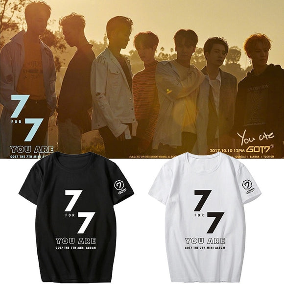 GOT7 '7 for 7' T-Shirt - Totally Kpop