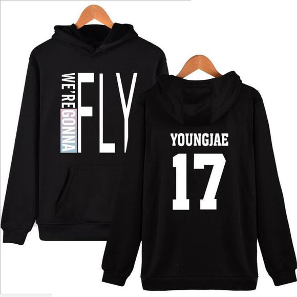GOT7 'FLY' Hoodie - Black - Totally Kpop