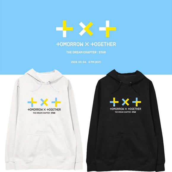 TXT 'Dream Chapter Star' Fleece Hoodie - Totally Kpop