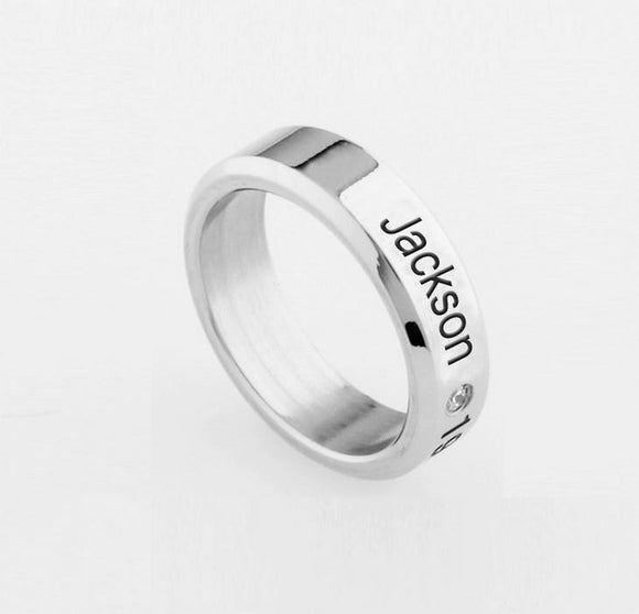 GOT7 'Engraved' Bias Ring - Totally Kpop