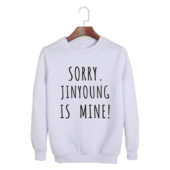 GOT7 'Mine' Sweatshirt - White - Totally Kpop