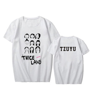 Twice 'Twiceland Portrait' T-Shirt - Totally Kpop