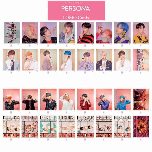 BTS 'Map of the Soul Persona' Photocards - Totally Kpop