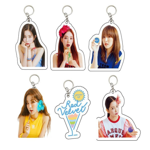 Red Velvet 'Power Up' Keychain - Totally Kpop