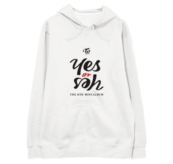 TWICE 'Yes or Yes' Hoodie - Totally Kpop