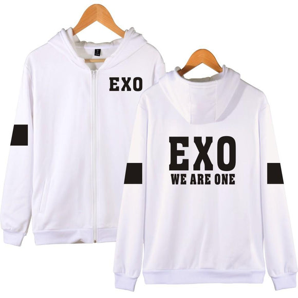 EXO 'We Are One' Zipped Hoodie - Totally Kpop