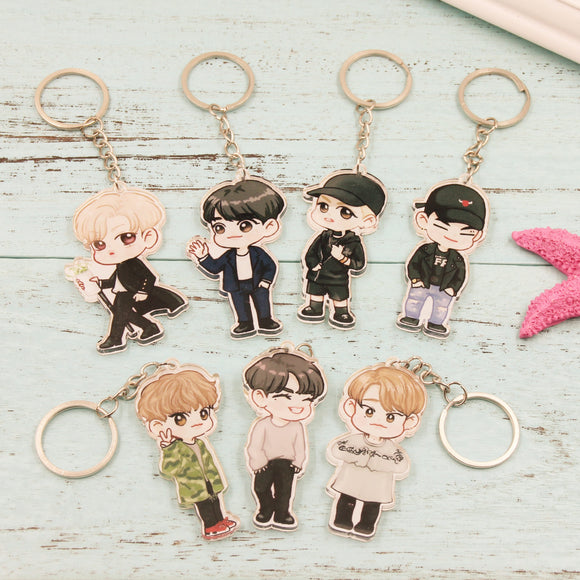 GOT7 'Chibi' Keychain - Totally Kpop