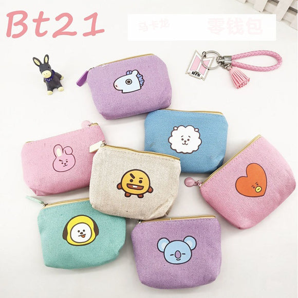 BT21 Small Canvas Bag - Totally Kpop
