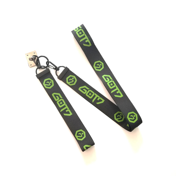 GOT7 'Logo' Lanyard Keychain - Totally Kpop