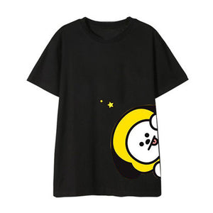 BT21 'Peeking' Member T-Shirt - Totally Kpop