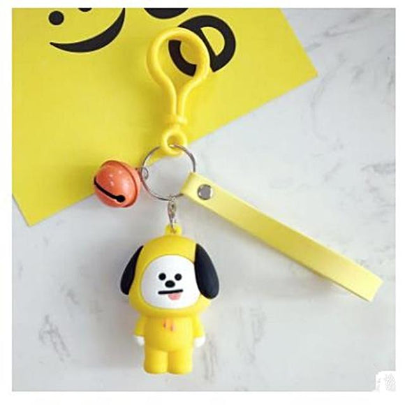 BTS BT21 'Cute Character' Keychain - Totally Kpop