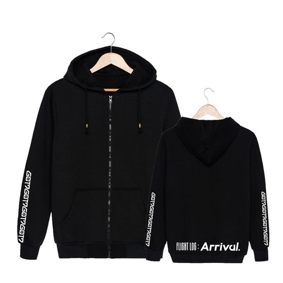 GOT7 'Flight Log: Arrival' Zipped Hoodie - Totally Kpop
