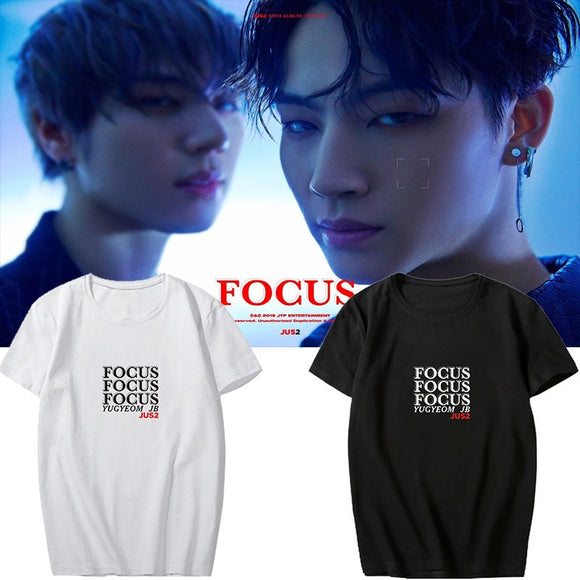 GOT7 JUS2 'FOCUS' T-Shirt - Totally Kpop
