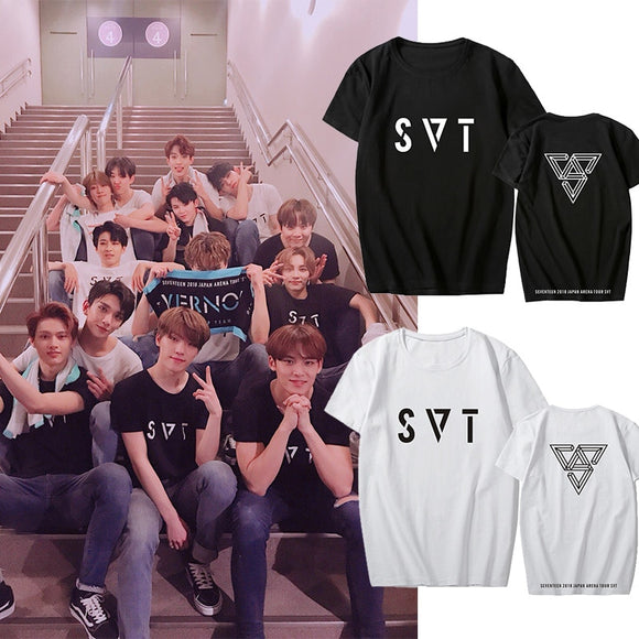 SEVENTEEN 'SVT' T-Shirt - Totally Kpop