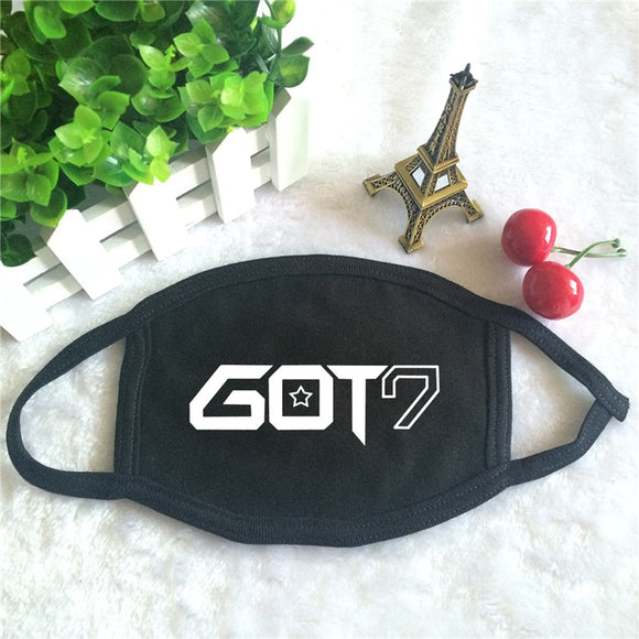 GOT7 'Logo' Face Mask - Totally Kpop