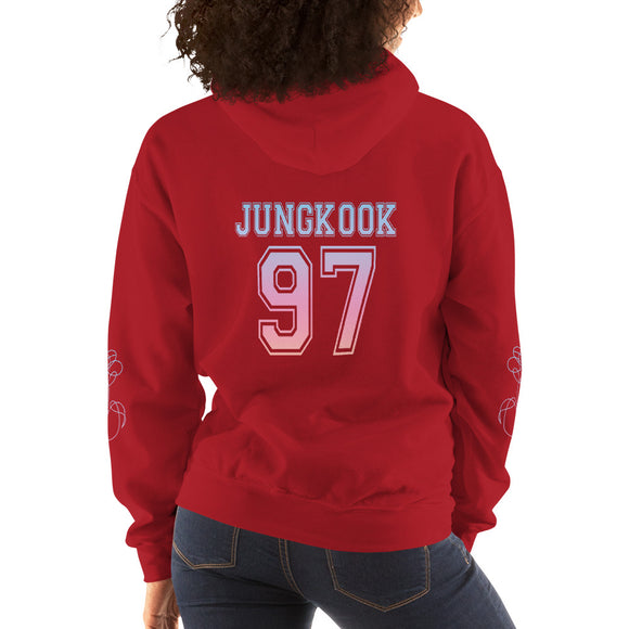 BTS 'ARMY' Pullover Hoodie - Jungkook - Totally Kpop