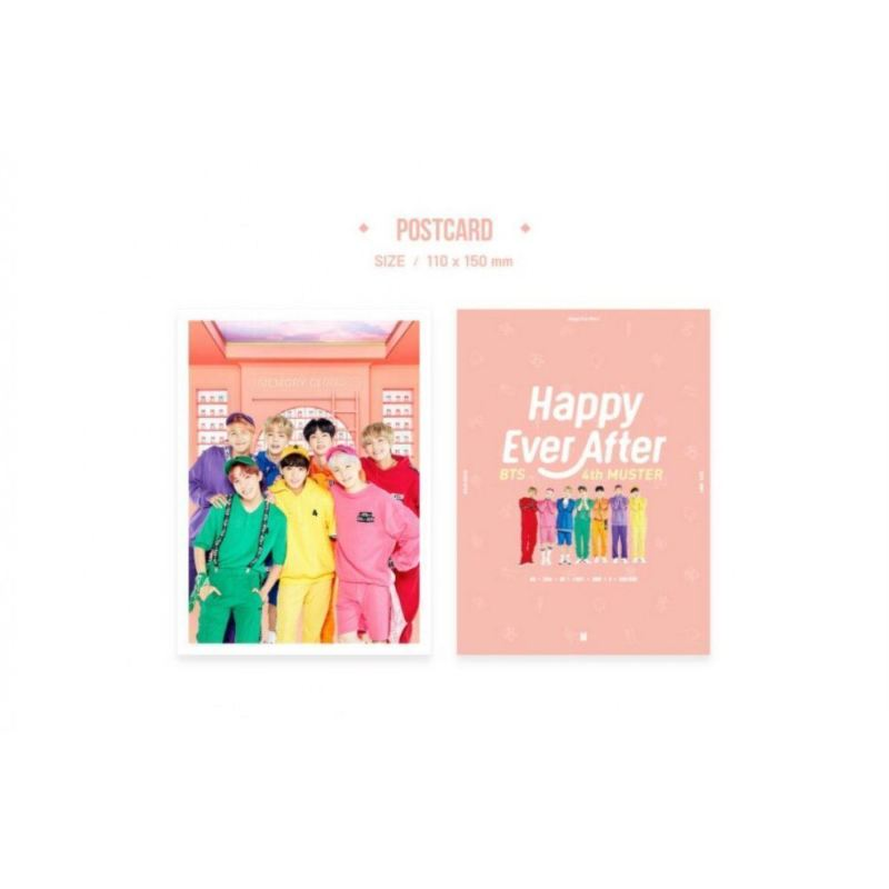 BTS - 4th Muster Happily Ever After - DVD Full Package