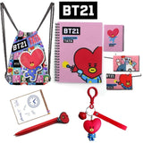 BTS BT21 'Accessories Set' - 5 Items Included! - Totally Kpop