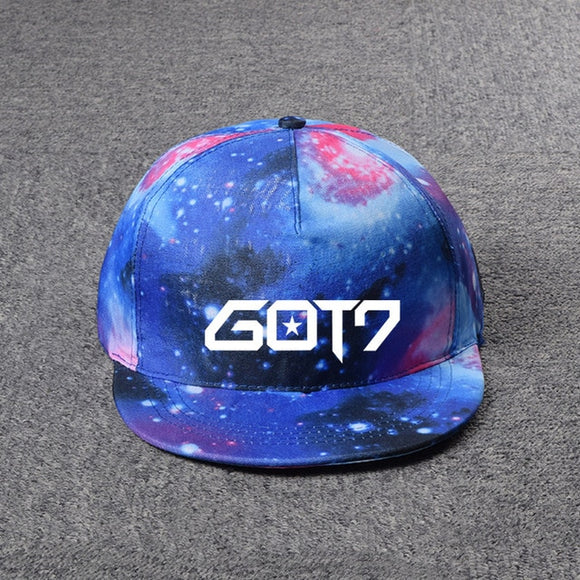 GOT7 'Galaxy' Logo Snapback - Totally Kpop