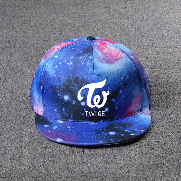 TWICE 'Galaxy' Logo Snapback - Totally Kpop
