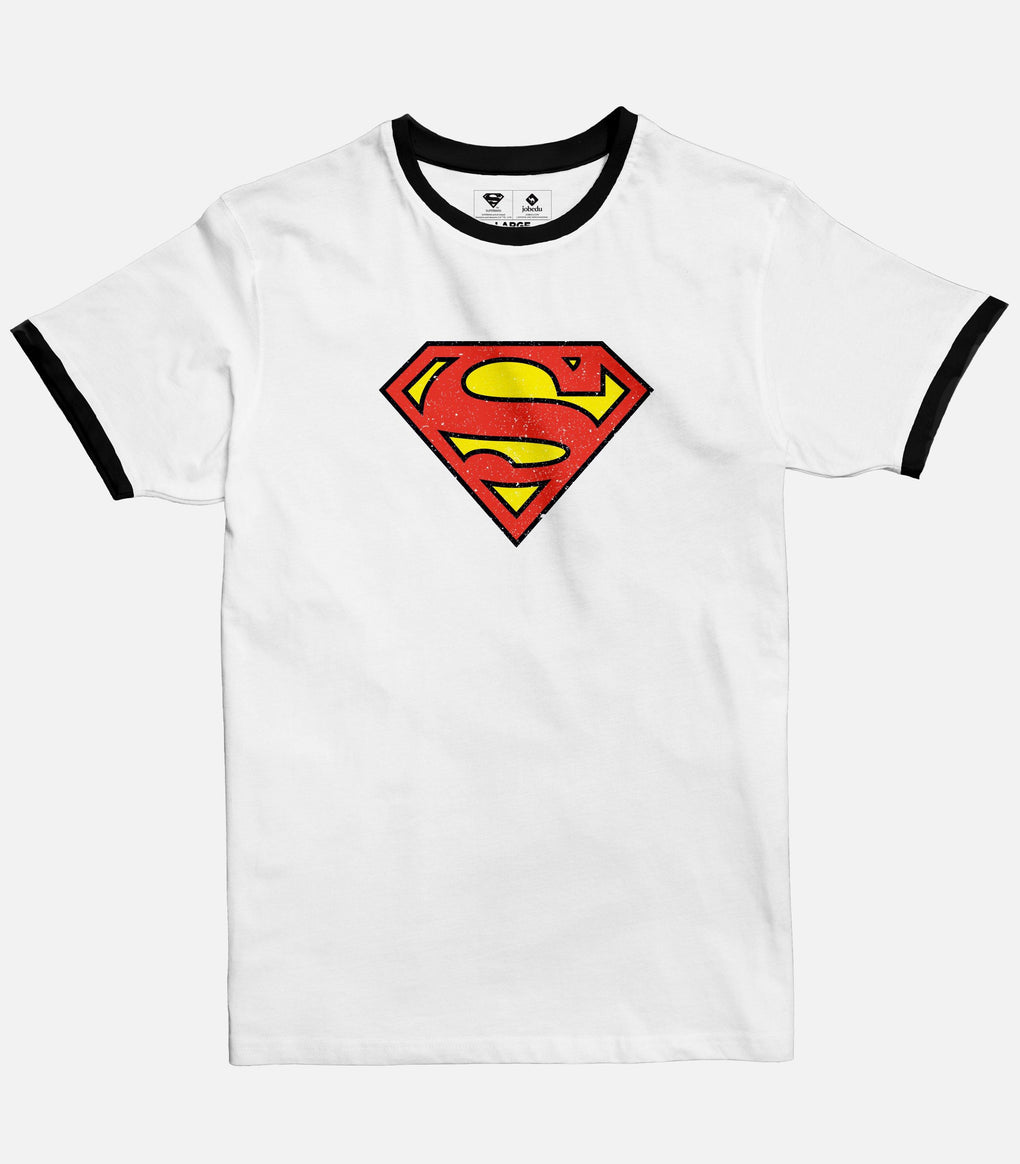 Superman Logo | Men's Ringer T-shirt