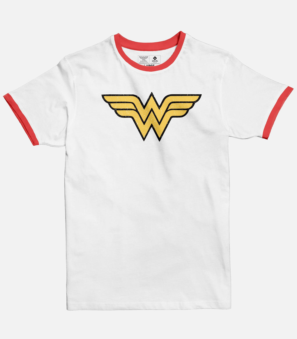Wonder woman Logo | Men's Ringer T-shirt