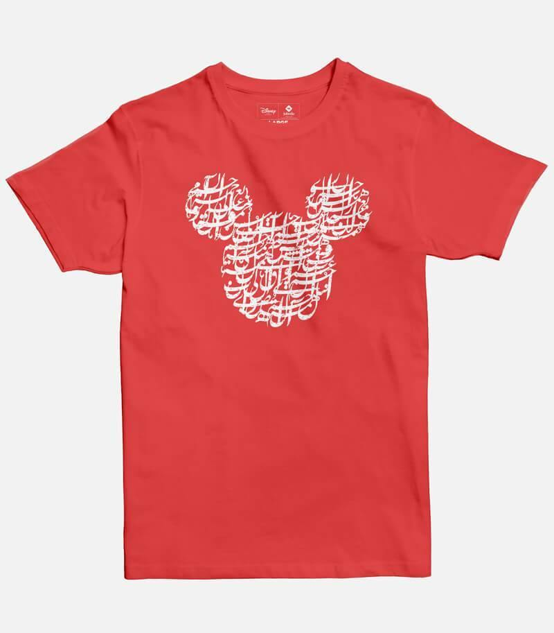 Mickey Calligraphy Men's T-shirt