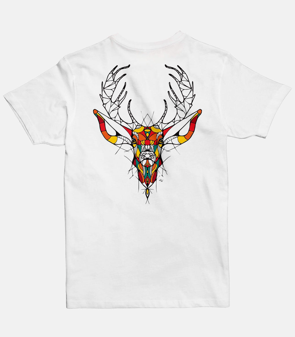 Deer | Men's Basic Cut T-shirt - Jobedu Jordan