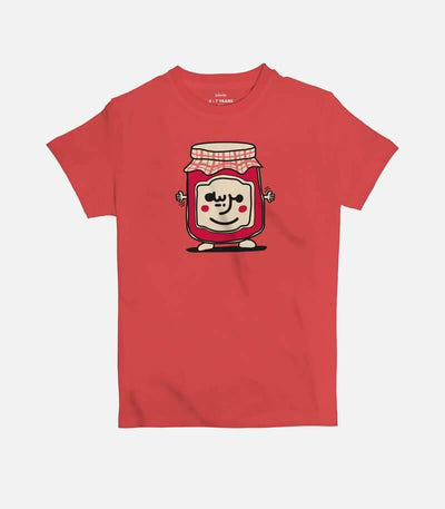 Mrabbayeh | Kid's Basic Cut T-shirt - Jobedu Jordan