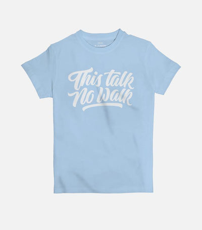 This Talk No Walk | Kid's Basic Cut T-shirt - Jobedu Jordan
