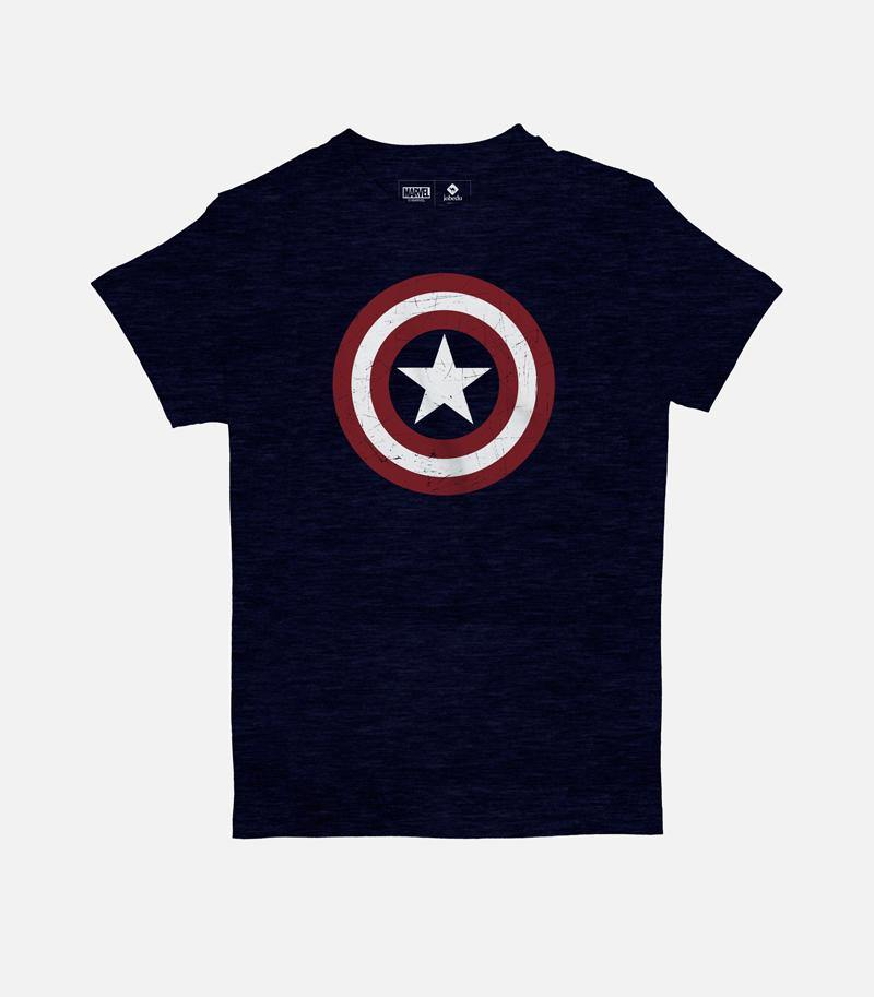 Captain America Shield | Kid's Basic Cut T-shirt