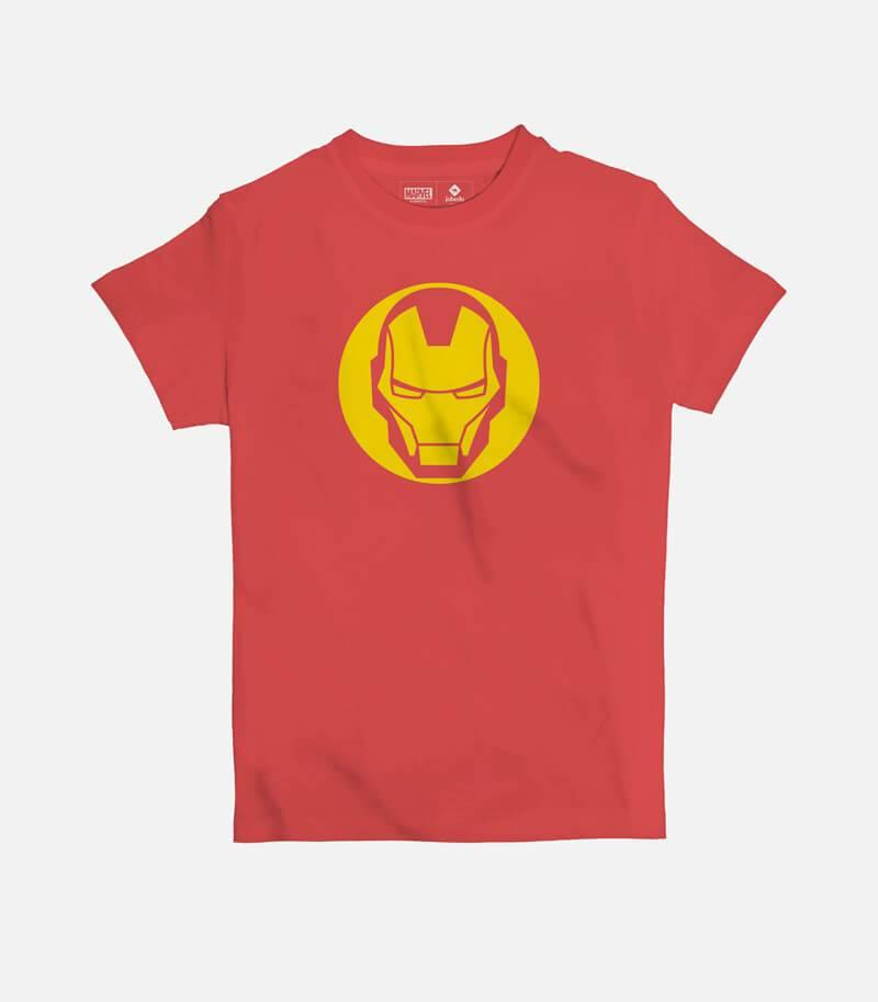 Iron Man Icon | Kid's Basic Cut T-shirt