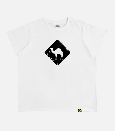 Jobedu Camel Crossing | Women Oversized Cut T-shirt - Jobedu Jordan