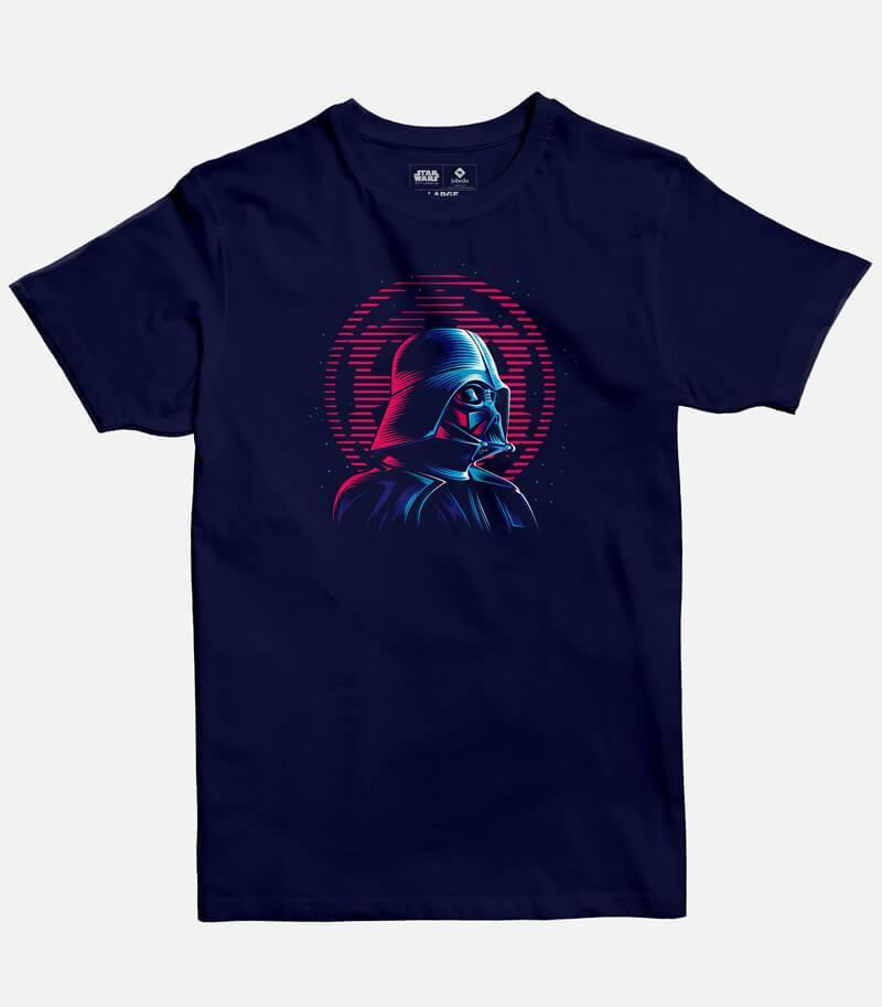 Darth Vader Neon Men's T-shirt
