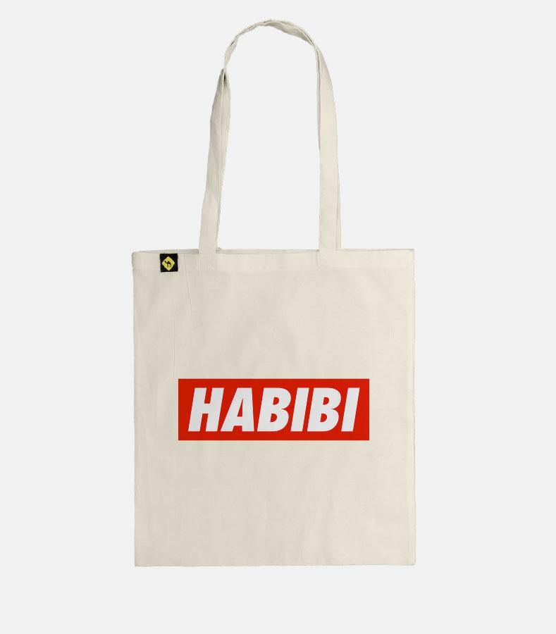 Habibi Simple | Tote Bag - Jobedu Jordan