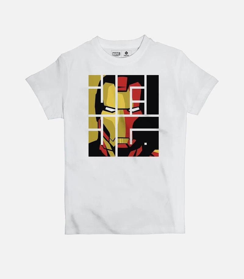 Iron Man Font | Kid's Basic Cut T-shirt - Jobedu Jordan