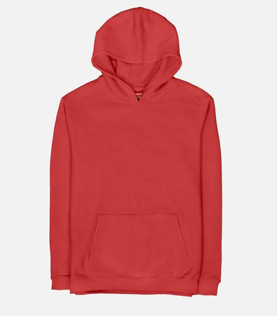 Basic - Hot Red | Unisex Adult Hoodie - Jobedu Jordan