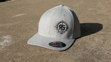 Gray FlexFit Embroidered Hat