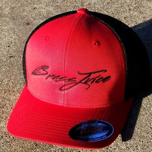 Brass Juice Red and Black  FlexFit- Trucker Cap