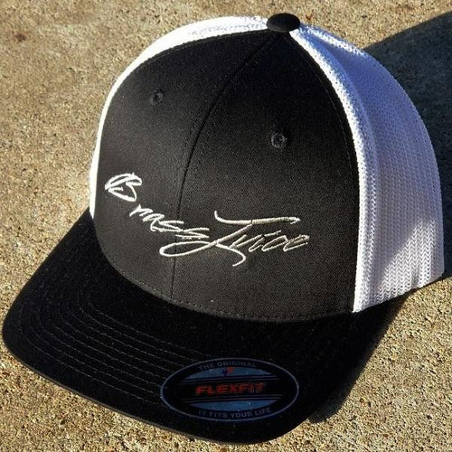 Brass Juice Black and Silver  FlexFit- Trucker Cap