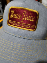Brass Juice Maroon/Antique Gold Patch  Trucker Hat