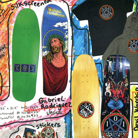 101 Skateboards reissue
