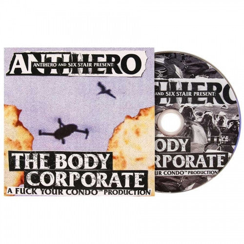 Anti Hero Skateboards The Body Corporate DVD.
