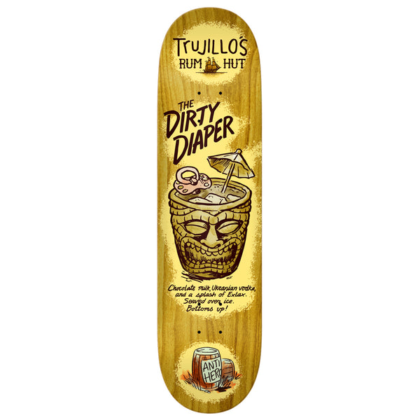 "Tony Trujillo Drinks Specials Deck 8.25"" Wide"