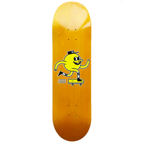 "Blast Skates Orange Deck 9"" Wide"