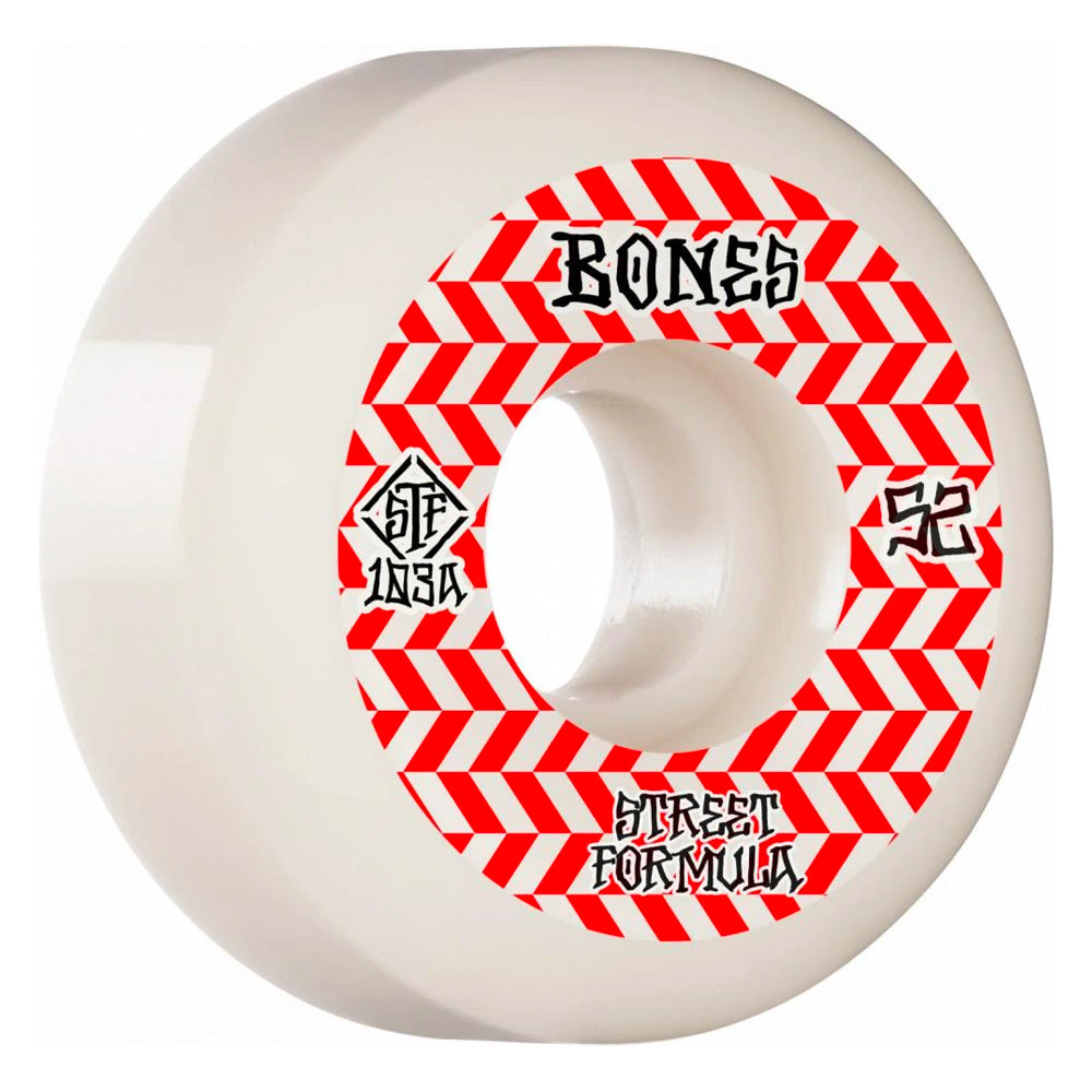 Bones Patterns Sidecuts STF V5 Wheels 52mm