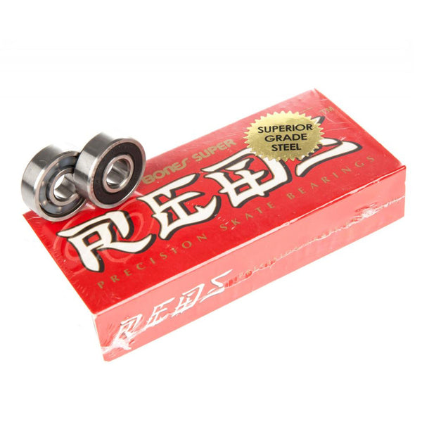 Super Reds Skateboard Bearings 16 Pack.