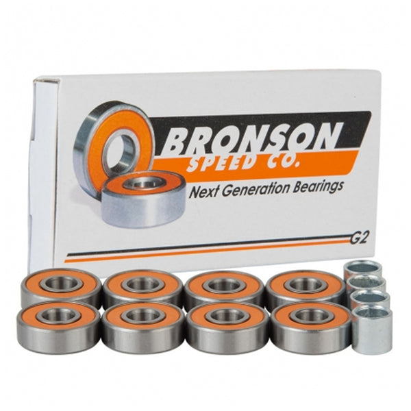 Bronson Speed Co G2 Skateboard Bearings.