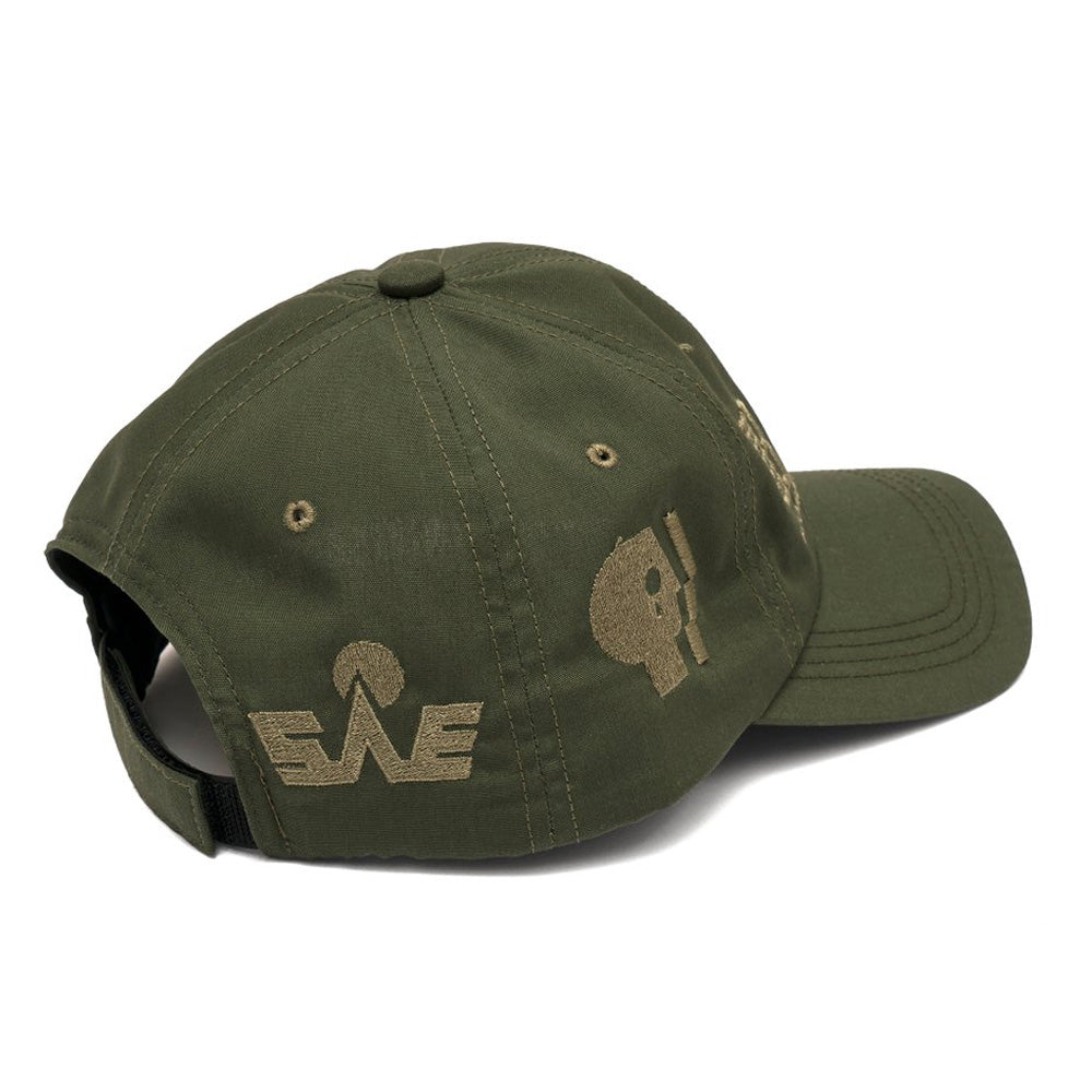 Bronze Hardware Anniversary 6 Panel Cap
