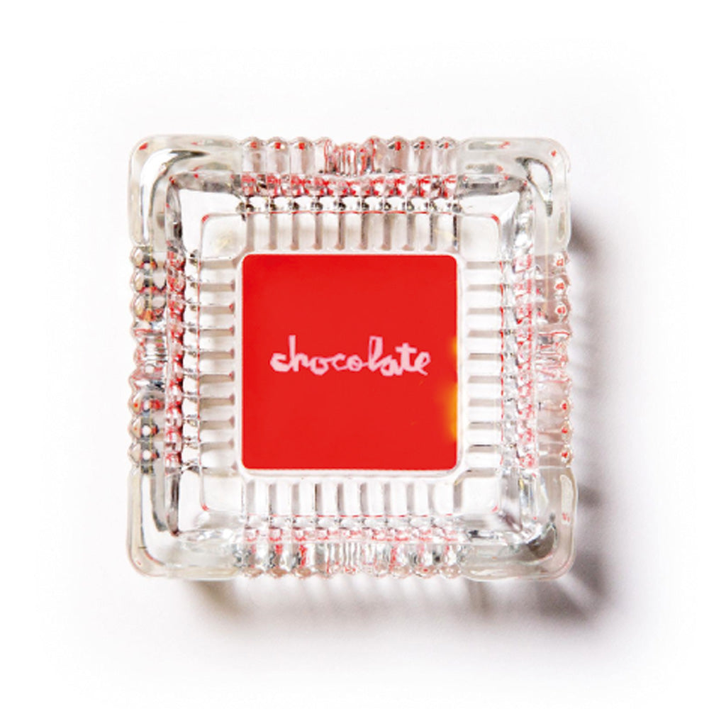 Chocolate Skateboards Red Square Ashtray